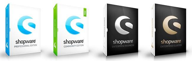 shopware versionen