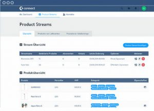 shopware connect product streams