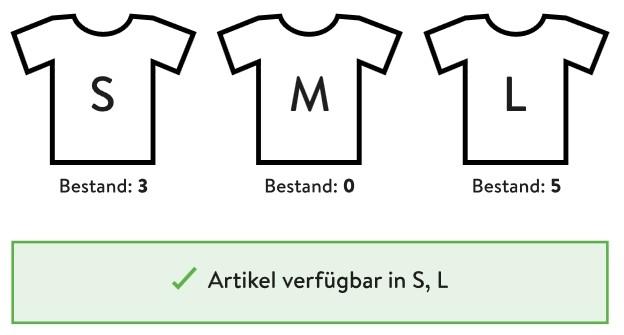 Varianten-Abverkauf Shopware 5.4