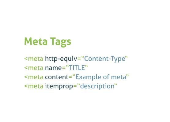 Meta Tags