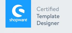 Shopware Certified Template Designer