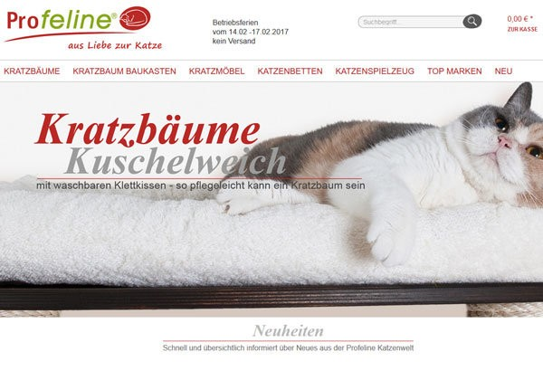 Profeline Katzenshop