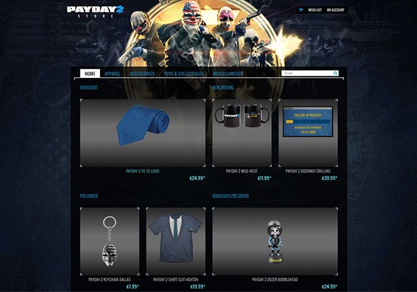payday 2 store